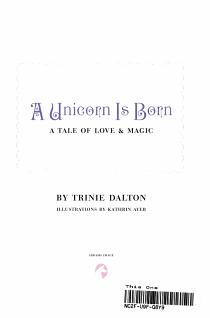 A Unicorn is Born PDF