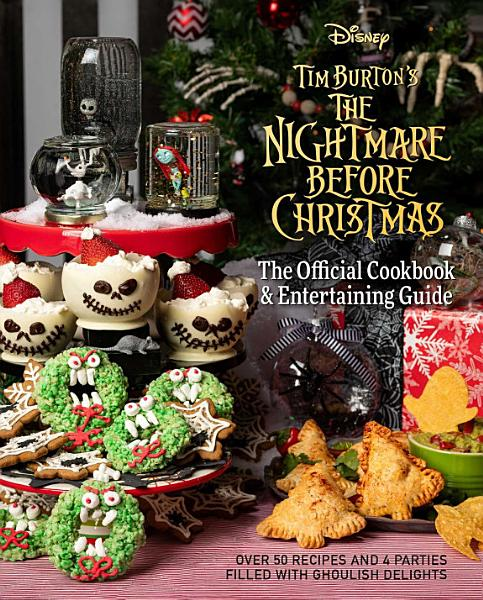 Download The Nightmare Before Christmas Cookbook   Entertaining Guide Book