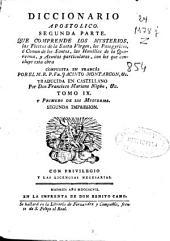 Diccionario apostolico: segunda parte ..., Volumen 13