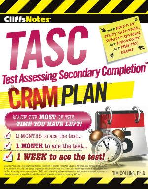 Cliffsnotes Tasc Test Assessing Secondary Completion tm  Cram Plan