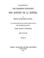 The Achievements of the Ingenious Gentleman, Don Quixote de la Mancha