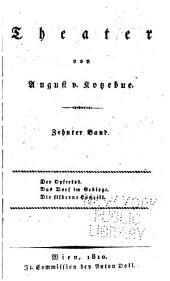 Theater: Bände 10-12