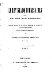 La Rivista de Buenos Aires: Volumen 15