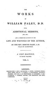 An account of the life and writings of W. Paley