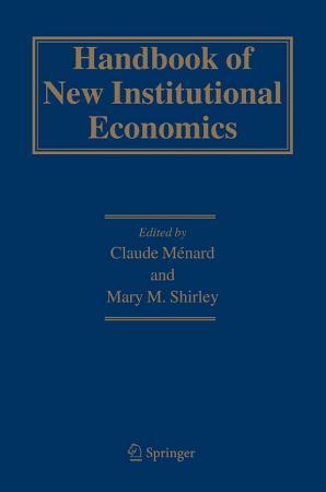 Handbook of New Institutional Economics PDF