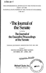 Journal Of The Senate Of The United States Of America Book PDF