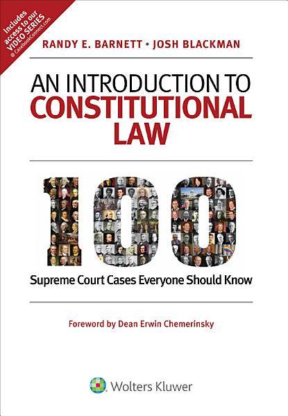Download An Introduction to Constitutional Law Book