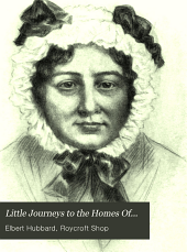 Little Journeys to the Homes Of...: Famous women
