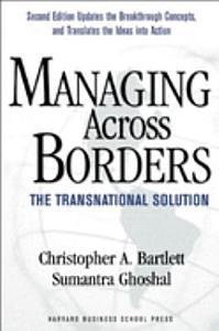 Managing Across Borders PDF