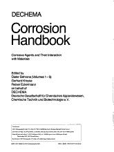 DECHEMA Corrosion Handbook  Chlorine Dioxide  Seawater PDF
