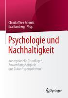 Psychologie und Nachhaltigkeit PDF