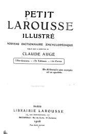 Petit Larousse illustré: nouveau dictionnaire encyclopédique