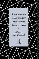 School Based Management and School Effectiveness PDF
