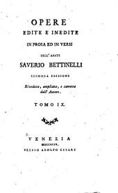 Opere edite e inedite in prosa ed in versi: Volume 9