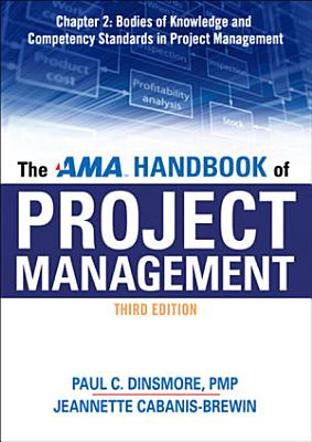 The AMA Handbook of Project Management Chapter 2  Bodies of Knowledge and Competency Standards in Project Management