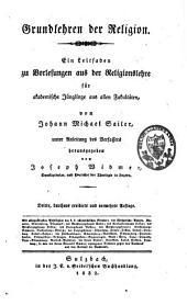 Johann Michael Sailer's sämmtliche Werke: Band 8