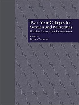 Two Year Colleges for Women and Minorities PDF