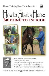 How to Start a Horse: Bridling to 1st Ride, Step-by-Step