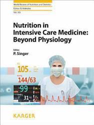 Nutrition In Intensive Care Medicine Book PDF