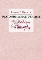 Platonism and Naturalism PDF