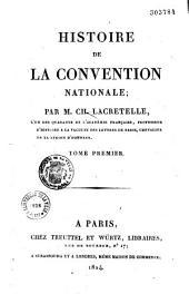 Histoire de la Convention nationale