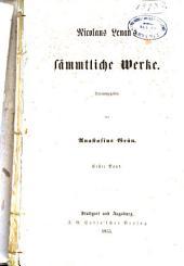Nicolaus Lenau's sämmtliche Werke: Band 1