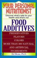 Your Personal Nutritionist Book