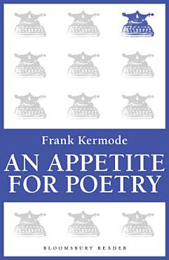 An Appetite for Poetry PDF