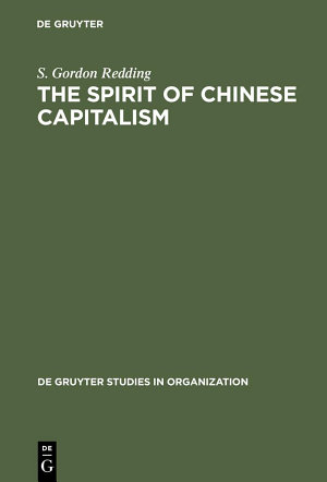 The Spirit of Chinese Capitalism