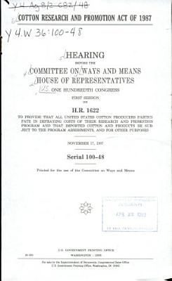 Cotton Research and Promotion Act of 1987