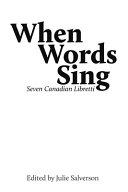 When Words Sing