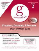 Fractions  Decimals    Percents GMAT Preparation Guide  4th Edition