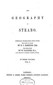 The Geography of Strabo: Volume 1