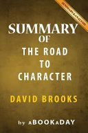 Summary Of The Road To Character Book PDF