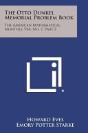 The Otto Dunkel Memorial Problem Book PDF