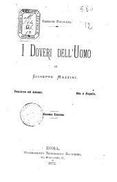 I doveri dell'uomo di Giuseppe Mazzini
