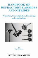 Handbook of Refractory Carbides   Nitrides PDF