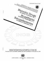 Narcotic Drugs: Estimated World Requirements for 2010 - Quarterly Supplement: Issue 2