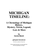 Michigan Timeline PDF
