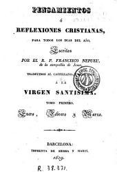 Pensamientos o reflexiones cristianas para todos los días del año, 1