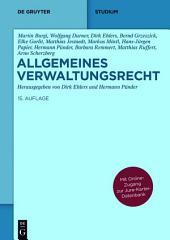 Allgemeines Verwaltungsrecht: Mit Online-Zugang zur Jura-Kartei-Datenbank, Ausgabe 15