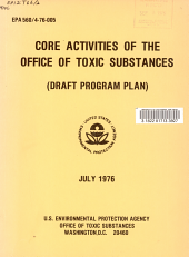 Core Activities of the Office of Toxic Substances