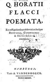 Q. Horatii Flacci poemata