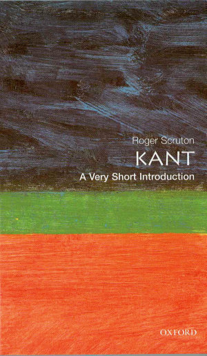 Kant  A Very Short Introduction