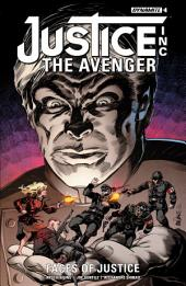 Justice Inc: The Avenger - Faces Of Justice #4 (Of 4)