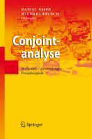 Conjointanalyse PDF