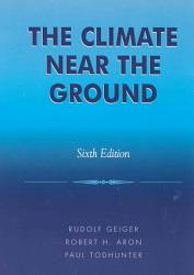 The Climate Near The Ground Book PDF