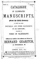 Bernard Quaritch PDF