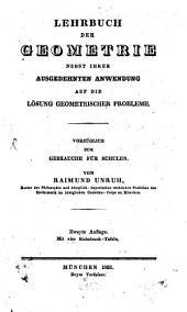 Lehrbuch der Geometrie