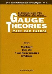 Gauge Theories — Past and Future